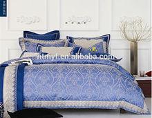 Elegant America style Jacquard Embroidery comforter cover set