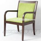 New Design Restaurat solid birch wood with arm chair CH-513