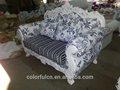 Sofá cama queen com um tecido bonito, sofá de alta qualidade