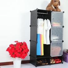 Portable creative environmental Diy closet organizerused storage cabinets kids FH-AL0523-3