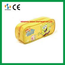 Wholesale pencil case,plastic pencil case with zipper,pencil case for kids