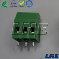 2 pin screw terminal block connector