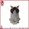 lifelike plush cat toy manufacture