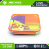 Arniss DX 3081 colorful food grade food container lunch box