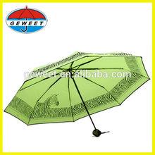 second hand items 3 section telescopic umbrella