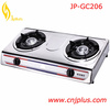 JP-GC206 Wholesell Stainless Steel Top Gas + Electric Stove