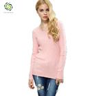 2014 wholesale top quality 100% cotton women sweater