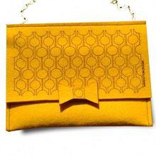 wool felt designer handbags importers plain wool felt bags