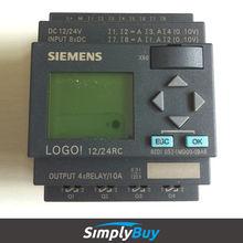 logic module siemens logo! plc 6ED1052-1MD00-0BA6