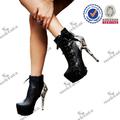 Venda quente novo estilo botas de couro de cobra