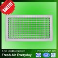 persianas de pvc ventanas de plástico de la rejilla de ventilación
