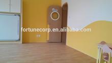 Imitation Wood vinyl linoleum floor in Sheet/ Roll