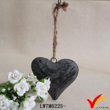 small hanging antique making handicraft heart metal