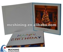 China Supplier Paper Illuminous Card with Sound
