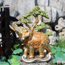 factory custom souvenir garden elephant sculpture