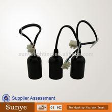 CE, VDE,SAA, RoHS, E27 Light Socket ,Bulb holder,screw table lamp holder
