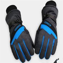 Alibaba Wholesale Male Cheap Taslon Ski Snow Training Velvet Gloves