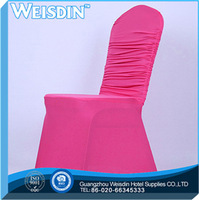 banquet Guangzhou 100% polyester china cheap chair covers restaurant seat cover for wedding