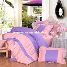 very popular hot sale &wholesale new style Korea style cotton bedding set