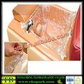 personalizado transparente grande de plástico pebd para cobrir pé banheira