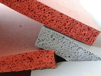 Low Density Sponge Silicone Rubber Roll Soft