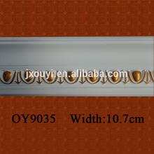 Interior Decorative Polyurethanes(PU) Crown Cornices Moulding