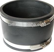 flexible coupling rubber/ fernco flexible coupling