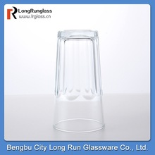 LongRun 6oz high quality and inexpensive tempered drinking water glass beer glass