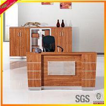 Melamine hot sale reception desk,front desk table