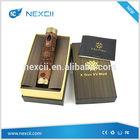 NexCii Wholesale wooden e cigs e fire mod X gun mod mechanical ecig mod parts