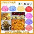 flor formas de moldes de silicone para bolo de microondas