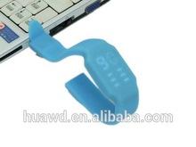 hotsale LED watch silicone pen drive , custom usb LED watch bracelet usb memory stick