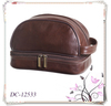 Men's Leather Travel Toiletry Bag