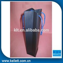 Wine paper bag & paper bag for wine bottle &gift paper wine bag