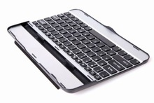 metal aluminum best wireless keyboard, customized different language