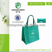 wholesale foldable printed non woven shopping bag