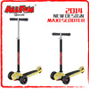 Heights adjustable scooter petrol cheap for maxi kick scooter