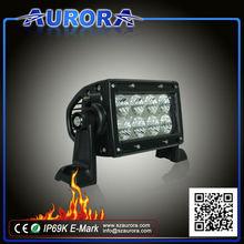"4"" led light bar 12v marine led 10w led bar 10w offroad led working light"