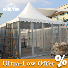 8x8m Special Clear Hard ABS Pagoda Tent For Event