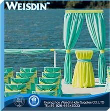 beach china wholesale 100% cotton wholesale organza sashes bridal sash chair covers chair sashes