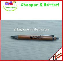 Logo printed or Laser engraved bamboo pen