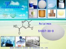 Supply high quality and purity API of Acipimox CAS 51037-30-0