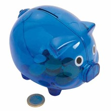 Plastic Cheap Piggy Bank