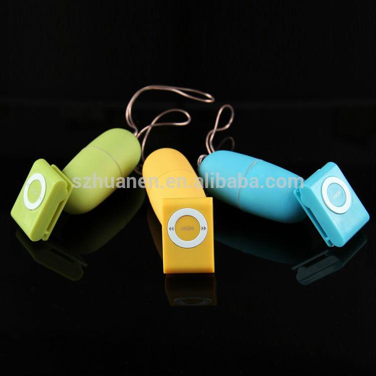 Multi-colors new designed MP3 vibrating eggs for man remote vibrating massage eggs double vibrating eggs on sale