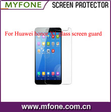 Ultra-Clear tempered glass screen protector shield for Huawei honor X1