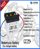 2014 hot selling product 6v 4ah dry charged motorcycle battery