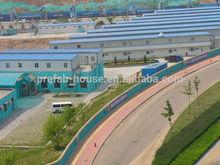 Prefab house labor camp in Qatar construction site/mining
