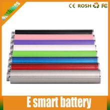 Cheap Colorful vape battery e cig e-smart electronic cigarette e smart battery e slim battery best fit for lady