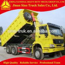 Sinotruck Howo 6x4 standard dump truck dimensions for sale