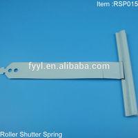 aluminum connecting spring for roller shutter